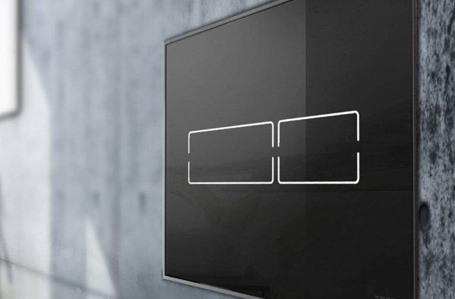 Laufen Tece Tecelux Mini plaque de déclenchement électronique