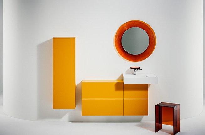 Kartell by Laufen - de nouvelles couleurs pour la salle de bain